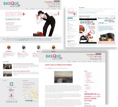 BASQUE + una web con mucho sentido