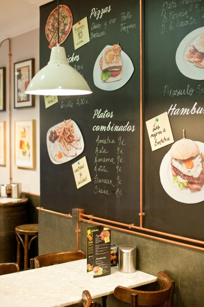 Tresdetres decorar con detalles industriales for Como montar una cafeteria