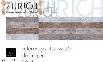 Restaurante ZURICH, reforma low cost